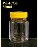 360ml PET Jar  (round)
