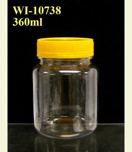 360ml PET Jar  (round)