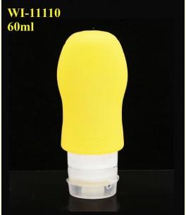 Refillable silicon bottle 60ml