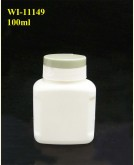 100ml Pharma Bottle with hinged cap