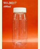600ml PET Jar  (round)