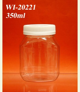 350ml PET Jar  (Rectangle)