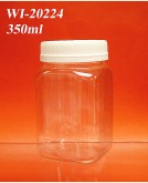 350ml PET Jar  (Square)