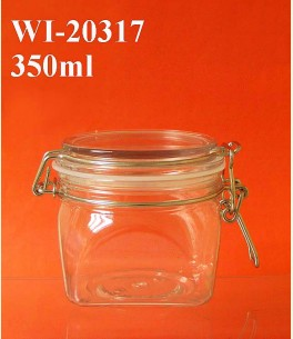 350ml PET Jar (square)
