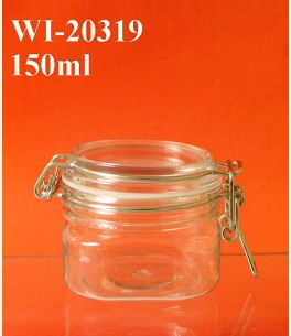 150ml PET Jar (square)