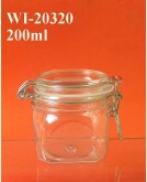 200ml PET Jar (square)