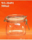 500ml PET Jar (square)