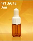 5ml tubular dropper bottle