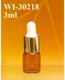 3ml tubular dropper bottle