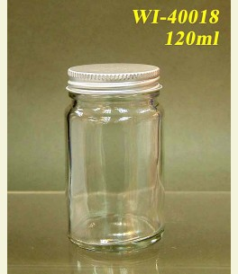 120ml Glass Food Jar