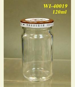 120ml Glass Food Jar