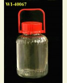 6800ml Glass Container
