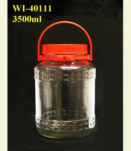 3500ml Glass Container