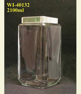 2100ml Glass Container