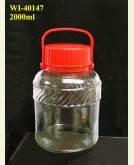 2000ml Glass Container